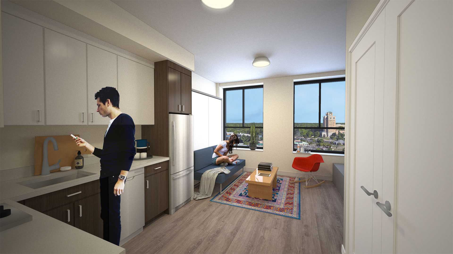 battle creek apartment